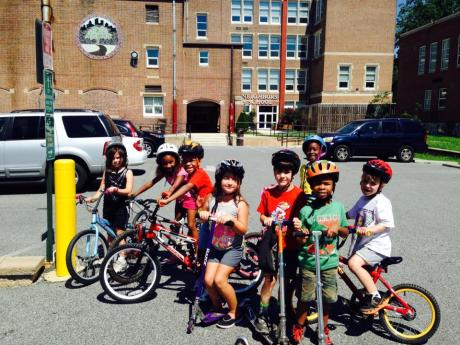 4 students took off the training wheels with the help of some friends!